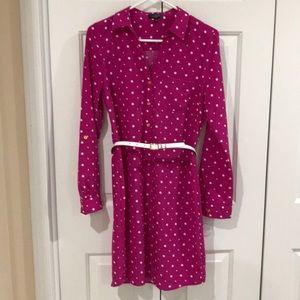 Long-Sleeved shirt dress
